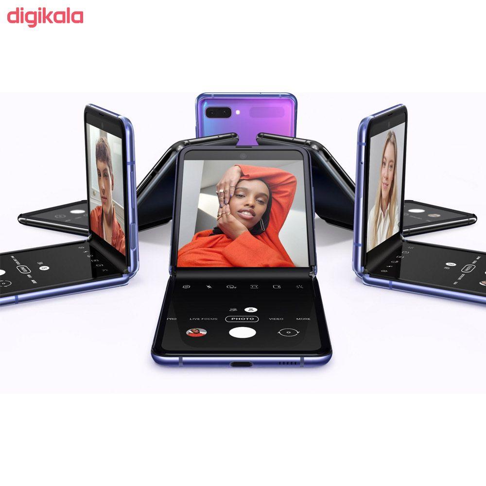 Photo of گوشی موبایل سامسونگ مدل Galaxy Z Flip تک سیم کارت ظرفیت 256 گیگابایت