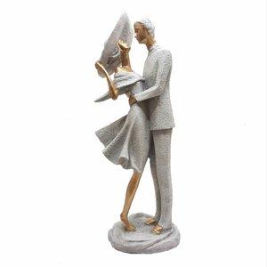 مجسمه زن و مرد مدل DG028 طرح عاشقانه