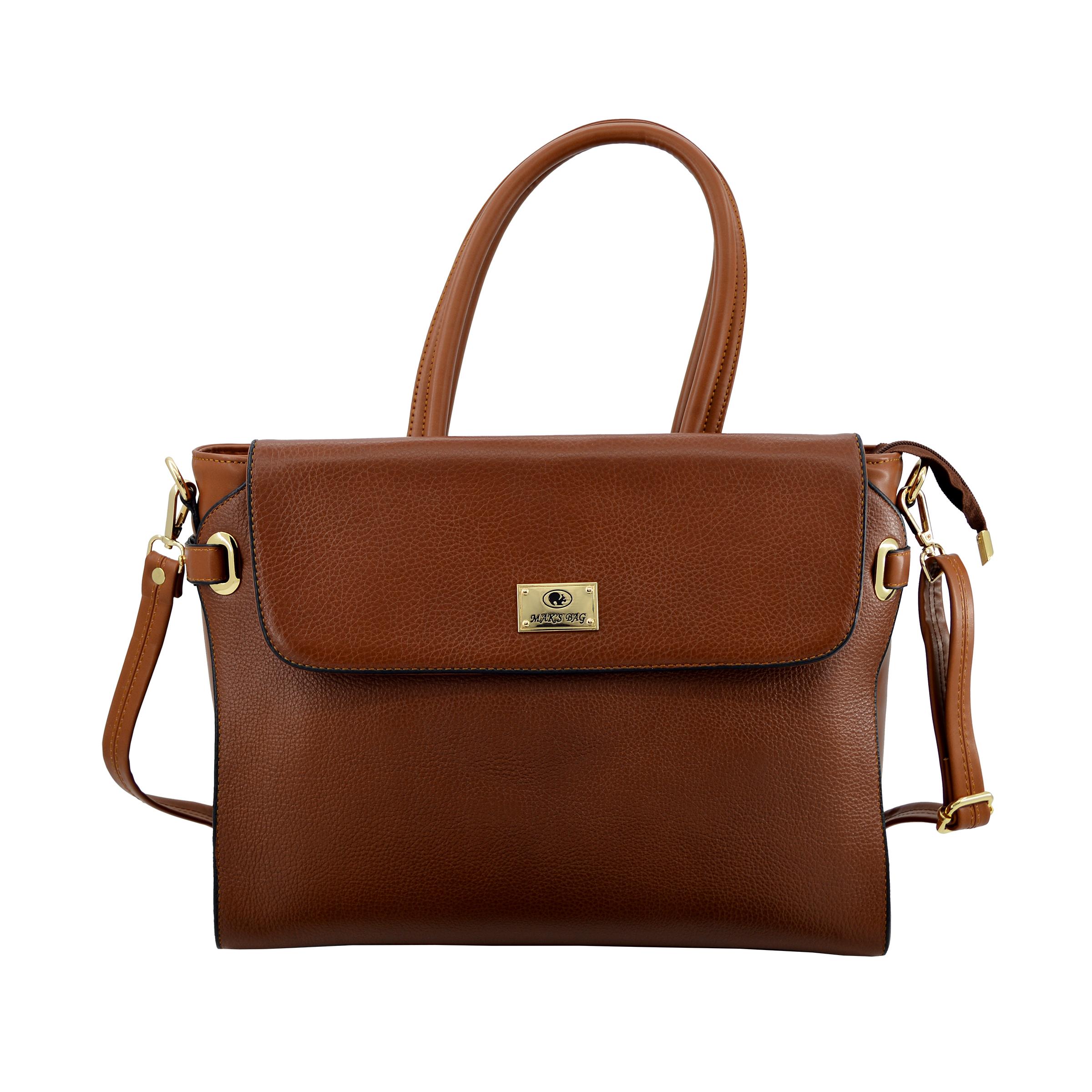 کیف دستی زنانه چرم مکس مدل آلدورا 11702