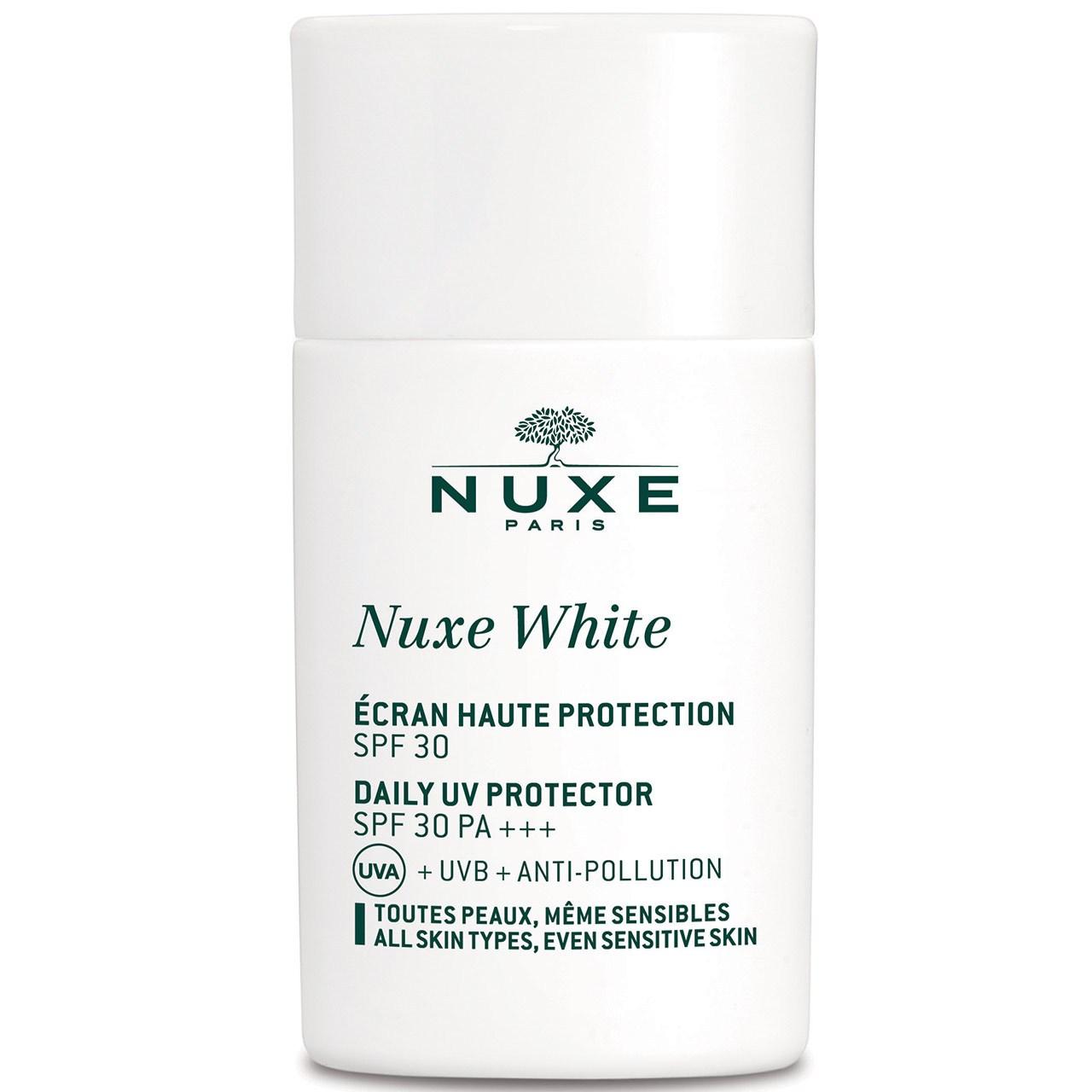 قیمت فلویید ضد آفتاب نوکس مدل Nuxe White SPF30 حجم 30 میلی لیتر