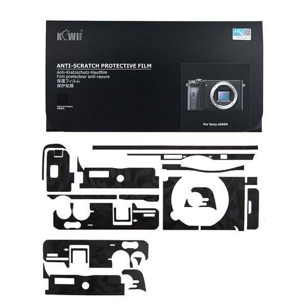 برچسب پوششی کی وی مدل KS-A6600SK مناسب برای دوربین عکاسی سونی a6600