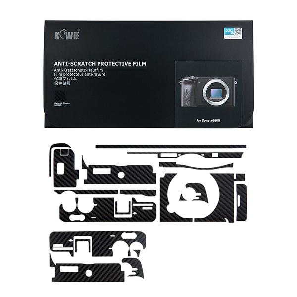 برچسب پوششی کی وی مدل KS-A6600CF مناسب برای دوربین عکاسی سونی a6600