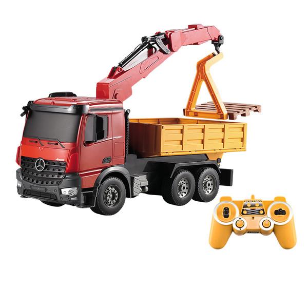 ماشین بازی کنترلی دابل ای مدل Mercedes-Benz Arocs Crane