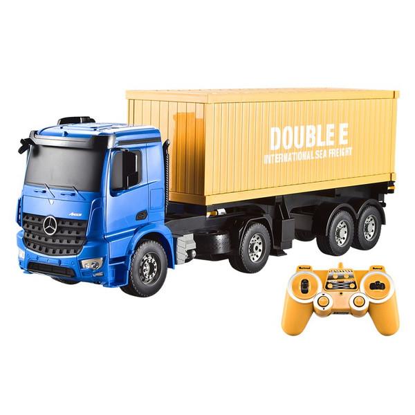 ماشین بازی کنترلی دابل ای مدل Mercedes-Benz Arocs Container Truck