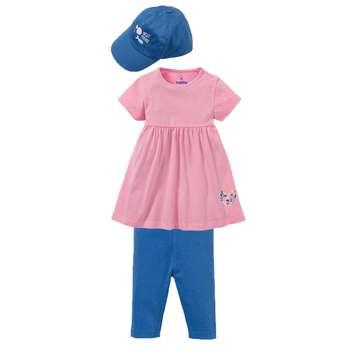 ست 3 تکه لباس دخترانه لوپیلو کد lp206