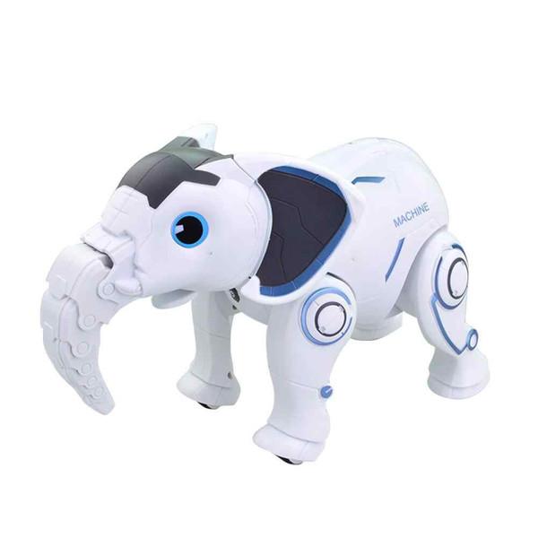 ربات اسباب بازی مدل K17 Intelligent Elephant