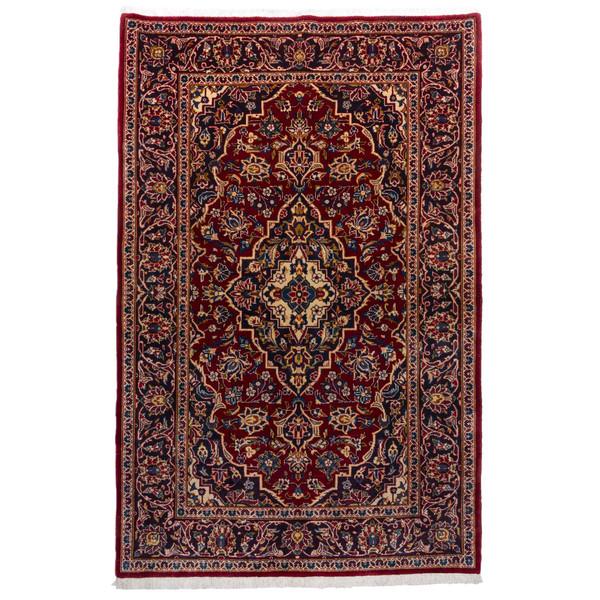 فرش دستباف قدیمی ذرع و نیم سی پرشیا کد 174390