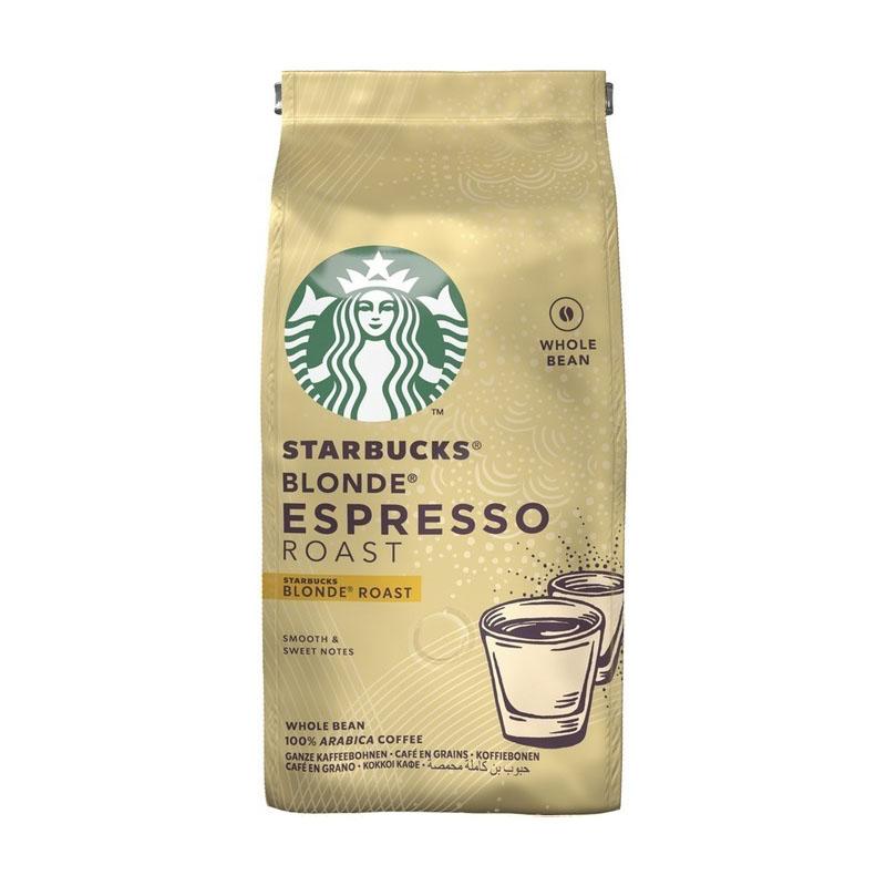 دانه قهوه اسپرسو استارباکس مدل Blonde Espresso Roas