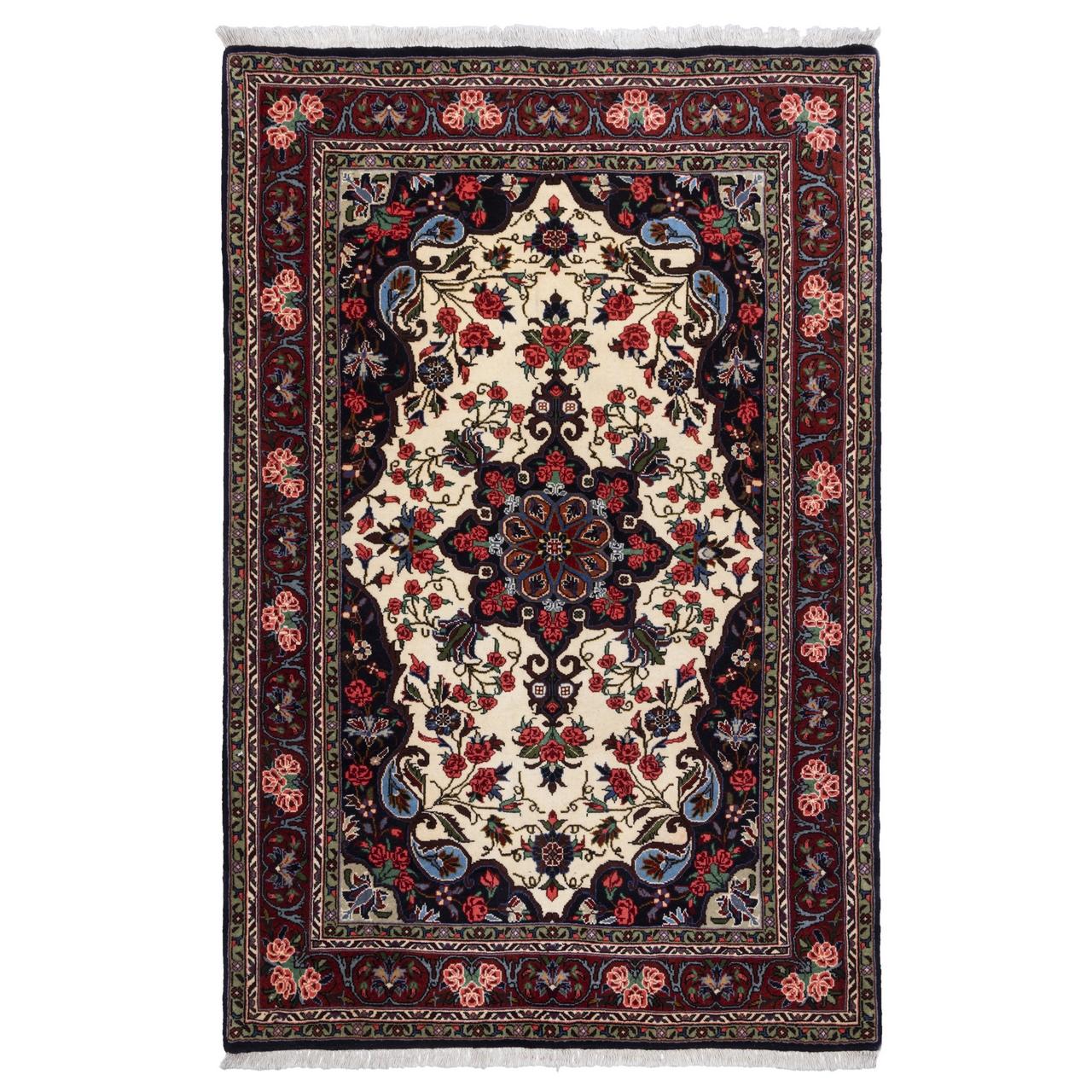فرش دستباف ذرع و نیم سی پرشیا کد 174393