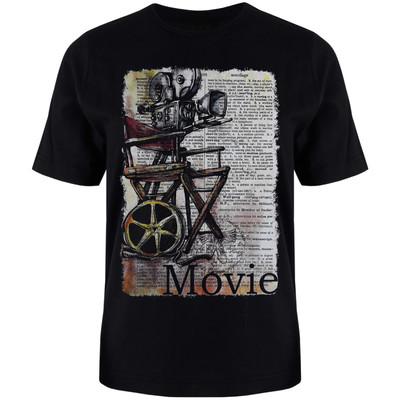 تصویر تی شرت آستین کوتاه مردانه کد T54