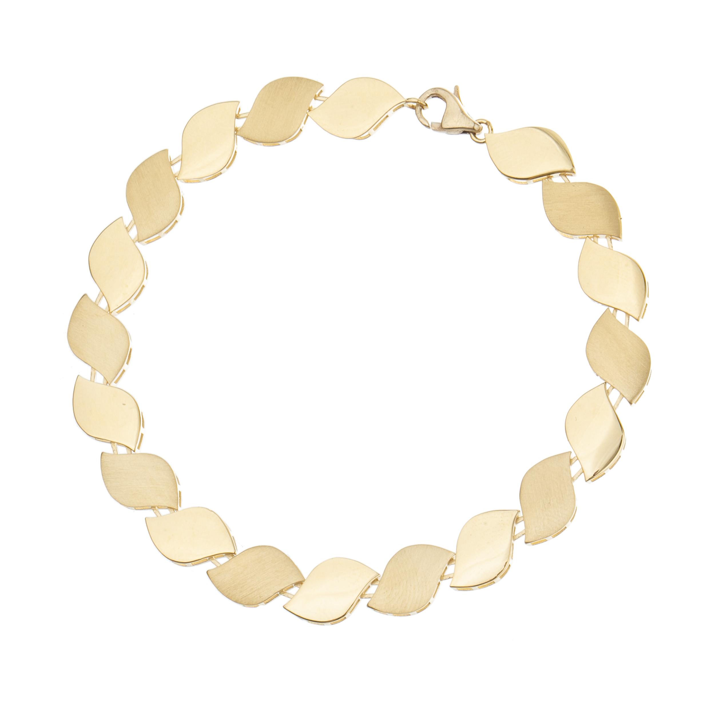دستبند طلا 18 عیار زنانه آلند کد D53