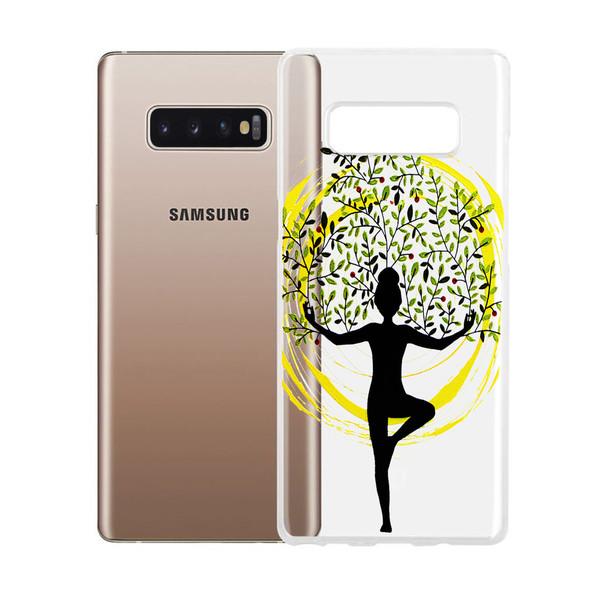 کاور طرح Meditation مدل CLR-001 مناسب برای گوشی موبایل سامسونگ Galaxy S10 Plus