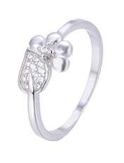 انگشتر نقره زنانه شهر جواهر کد SJ-YR051 -  - 1