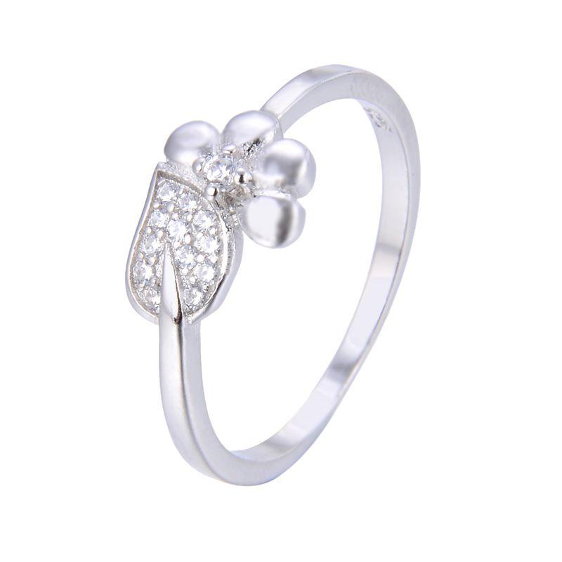 انگشتر نقره زنانه شهر جواهر کد SJ-YR051 -  - 2
