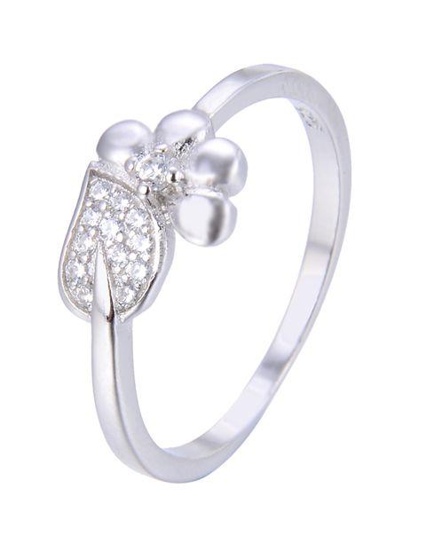 انگشتر نقره زنانه شهر جواهر کد SJ-YR051