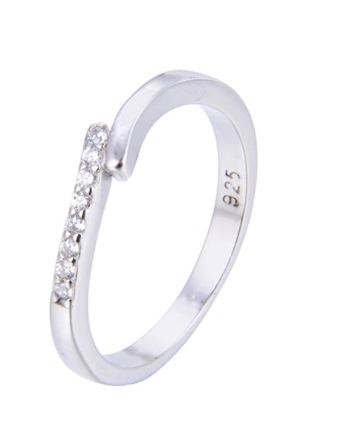 انگشتر نقره زنانه شهر جواهر کد SJ-YR065