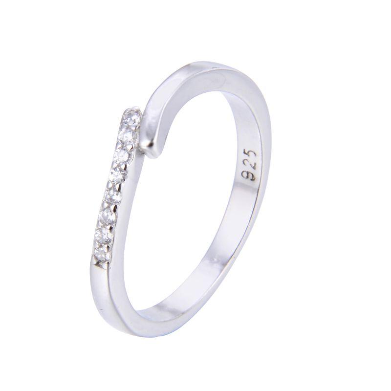 انگشتر نقره زنانه شهر جواهر کد SJ-YR065 -  - 3