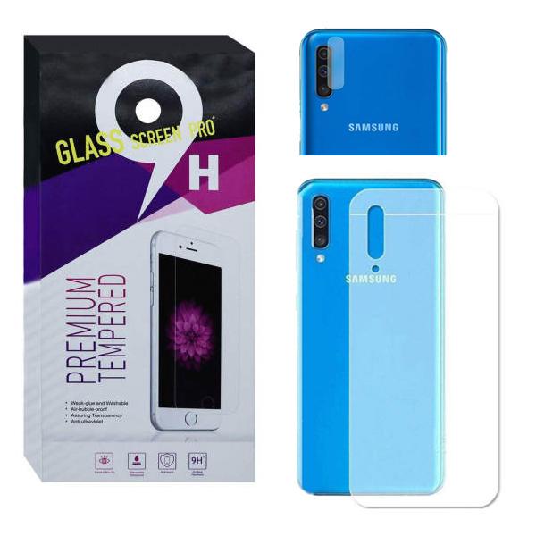 محافظ پشت گوشی مدل Pre-01 مناسب برای گوشی موبایل سامسونگ Galaxy A50 به همراه محافظ لنز دوربین              ( قیمت و خرید)