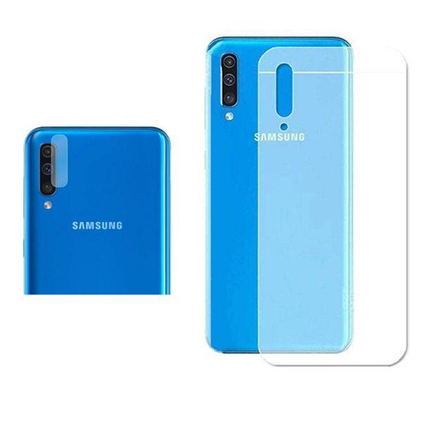 محافظ پشت گوشی مدل Pre-01 مناسب برای گوشی موبایل سامسونگ Galaxy A70s به همراه محافظ لنز دوربین main 1 1
