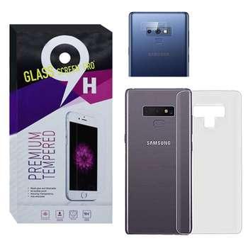 محافظ پشت گوشی مدل Pre-01 مناسب برای گوشی موبایل سامسونگ Galaxy Note 9 به همراه محافظ لنز دوربین