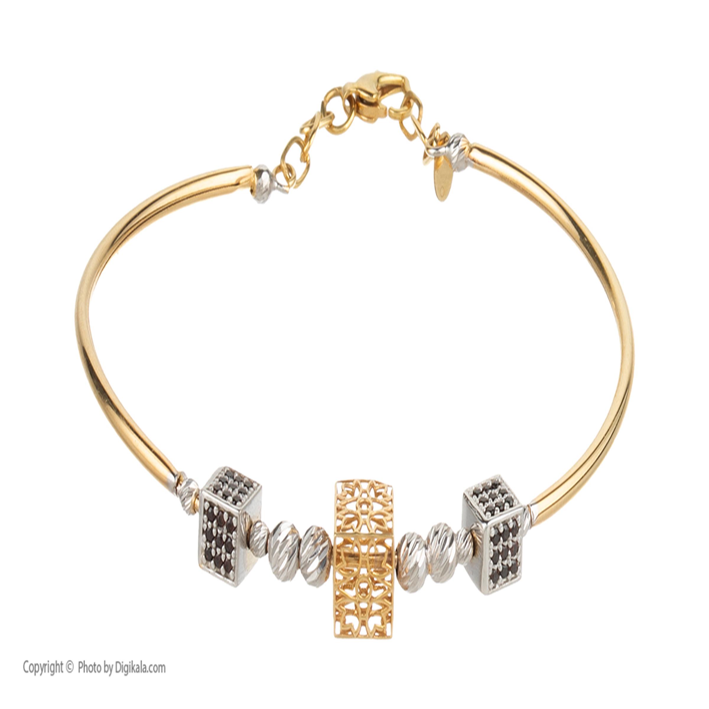 دستبند طلا  عیار نه آلند کد D22