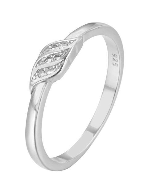 انگشتر نقره زنانه شهر جواهر کد SJ-YR070
