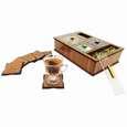جعبه رومیزی تی بگ و تنقلات و زیرلیوانی مدل DR_BEST thumb 4