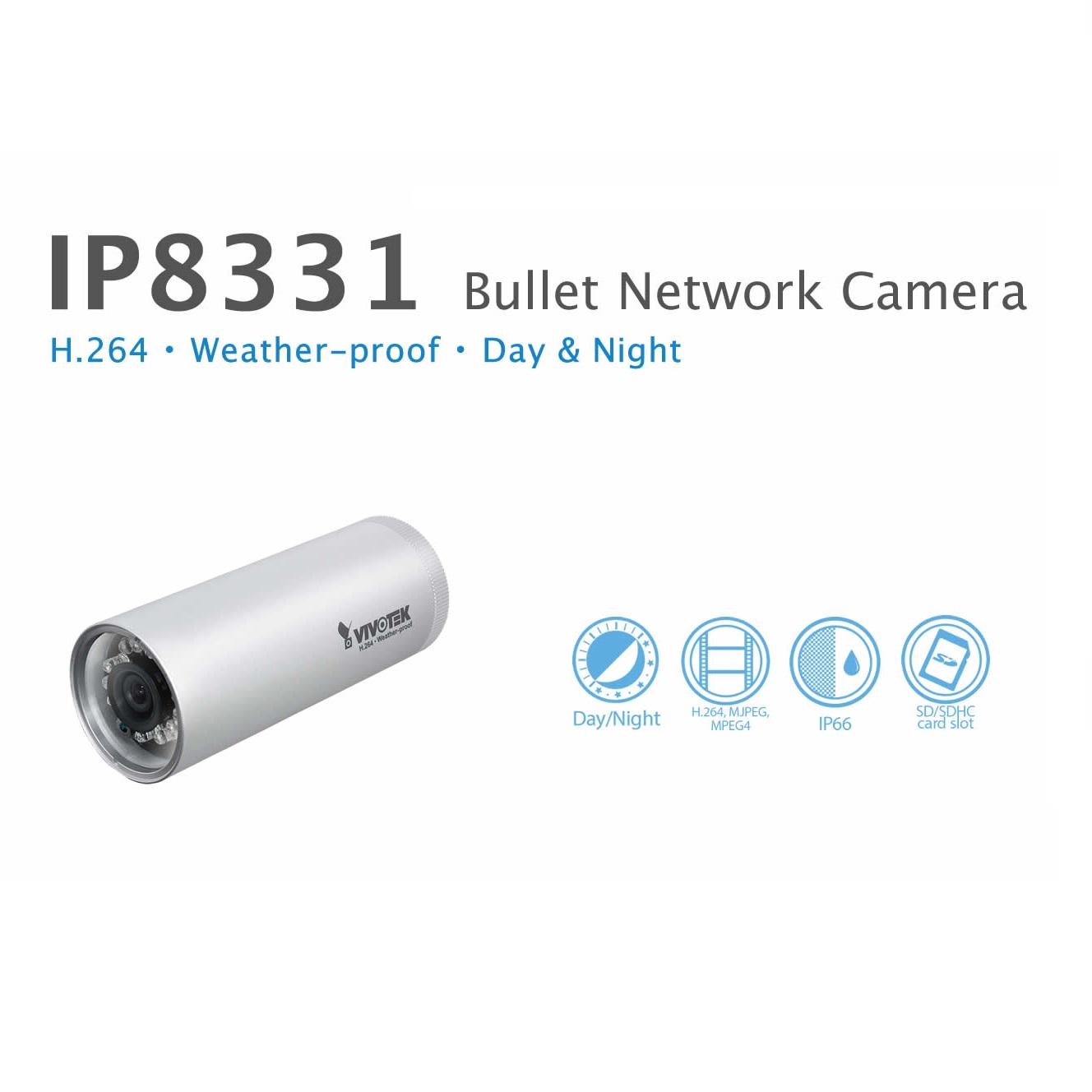 دوربین مداربسته تحت شبکه ویوتک مدل IP8331