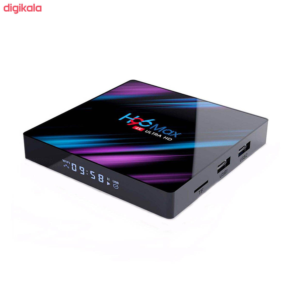 اندروید باکس اچ96 مدل مکس 4/32 - 3318 به همراه کیبورد هوشمند main 1 12