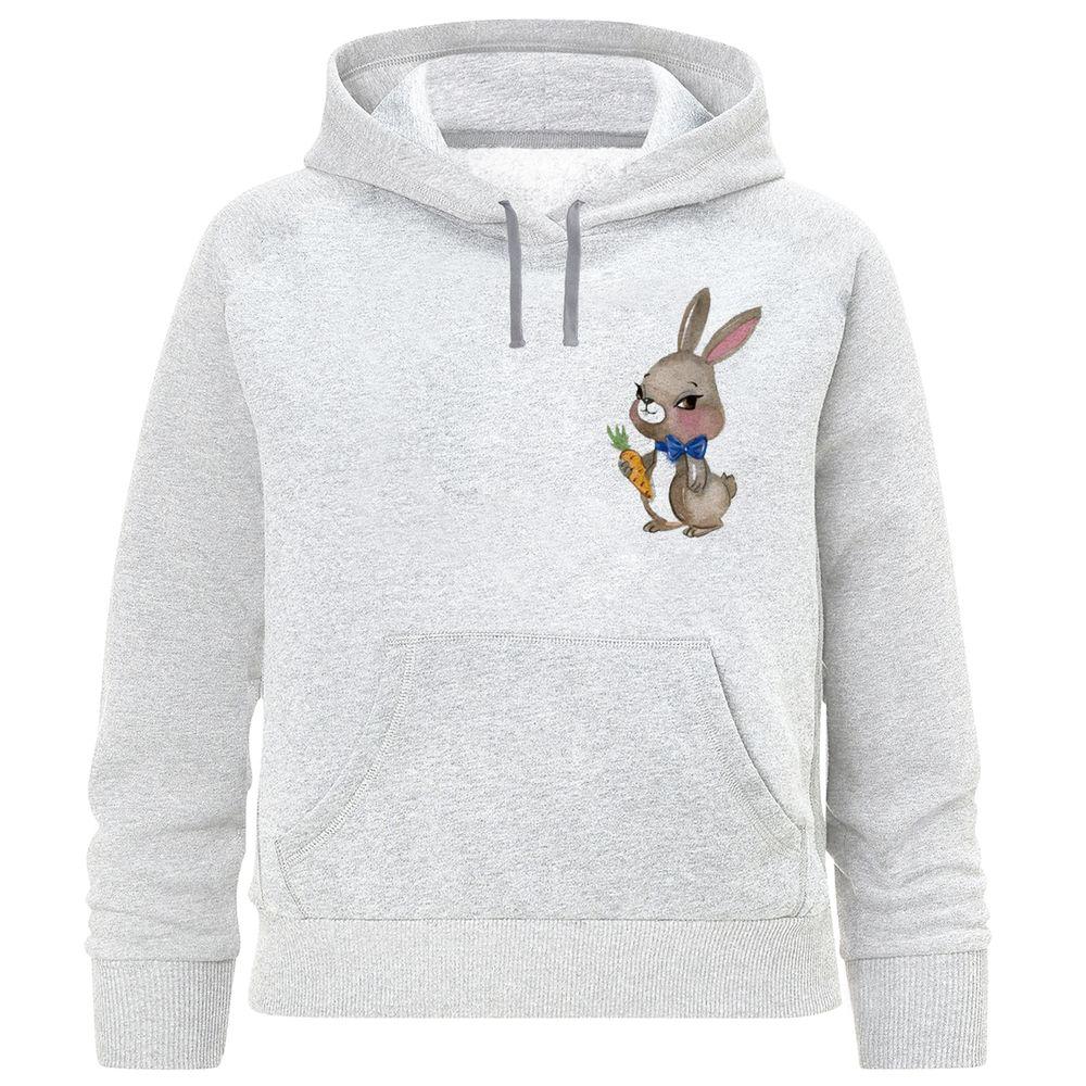 تصویر هودی دخترانه طرح خرگوش کد F388