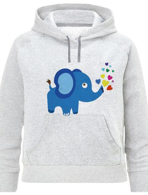 هودی دخترانه طرح فیل کد F391