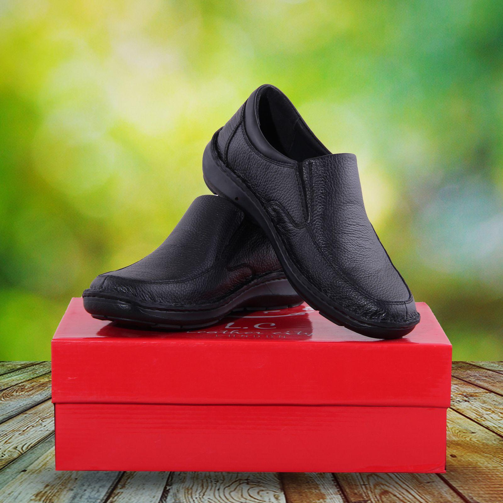 کفش مردانه شهر چرم مدل MT43-1 -  - 6