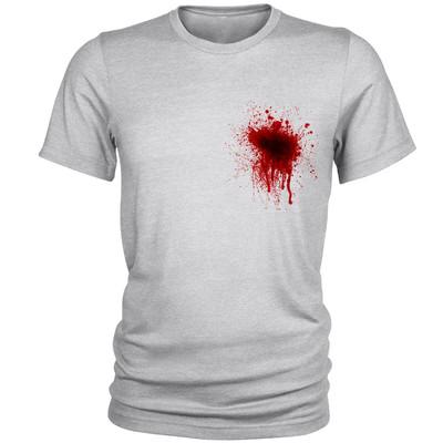 Photo of تی شرت آستین کوتاه مردانه طرح خون کد A191