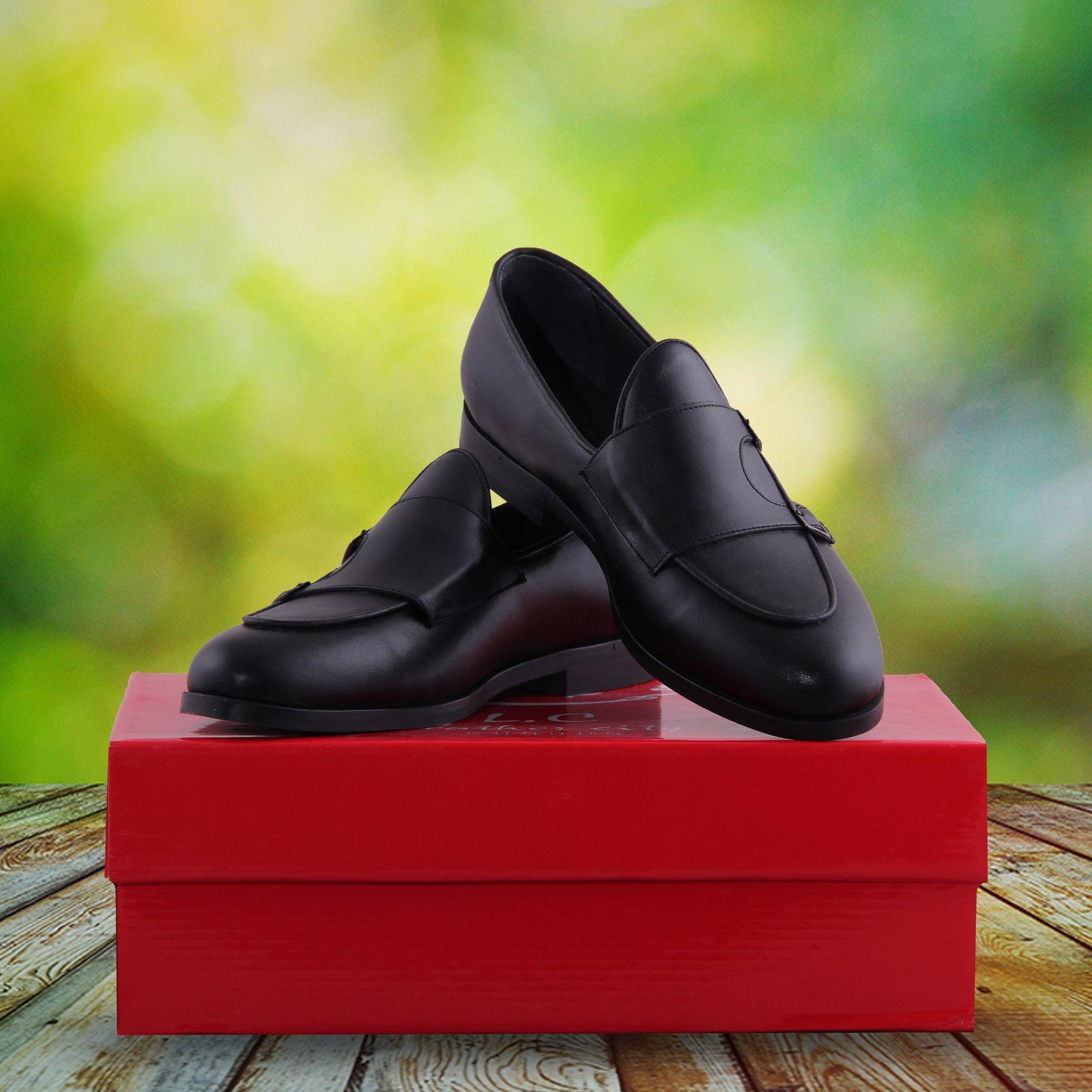 کفش مردانه شهر چرم مدل S961-1 -  - 7