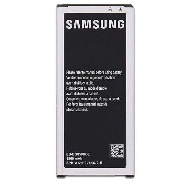 باتری موبایل مدل EB-BG850BBE ظرفیت 1860میلی آمپر ساعت مناسب برای گوشی موبایل سامسونگ Galaxy Alpha G850