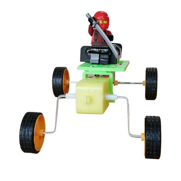 کیت آموزشی ربات چهارچرخ مدل kaki-06