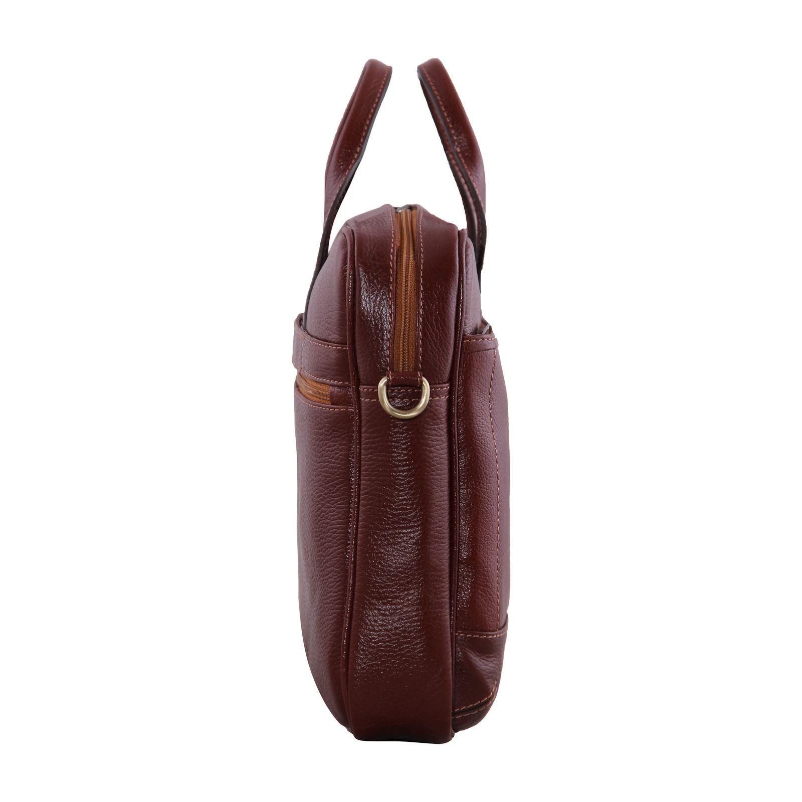 کیف اداری مردانه شهر چرم مدل SH11101-3 -  - 5