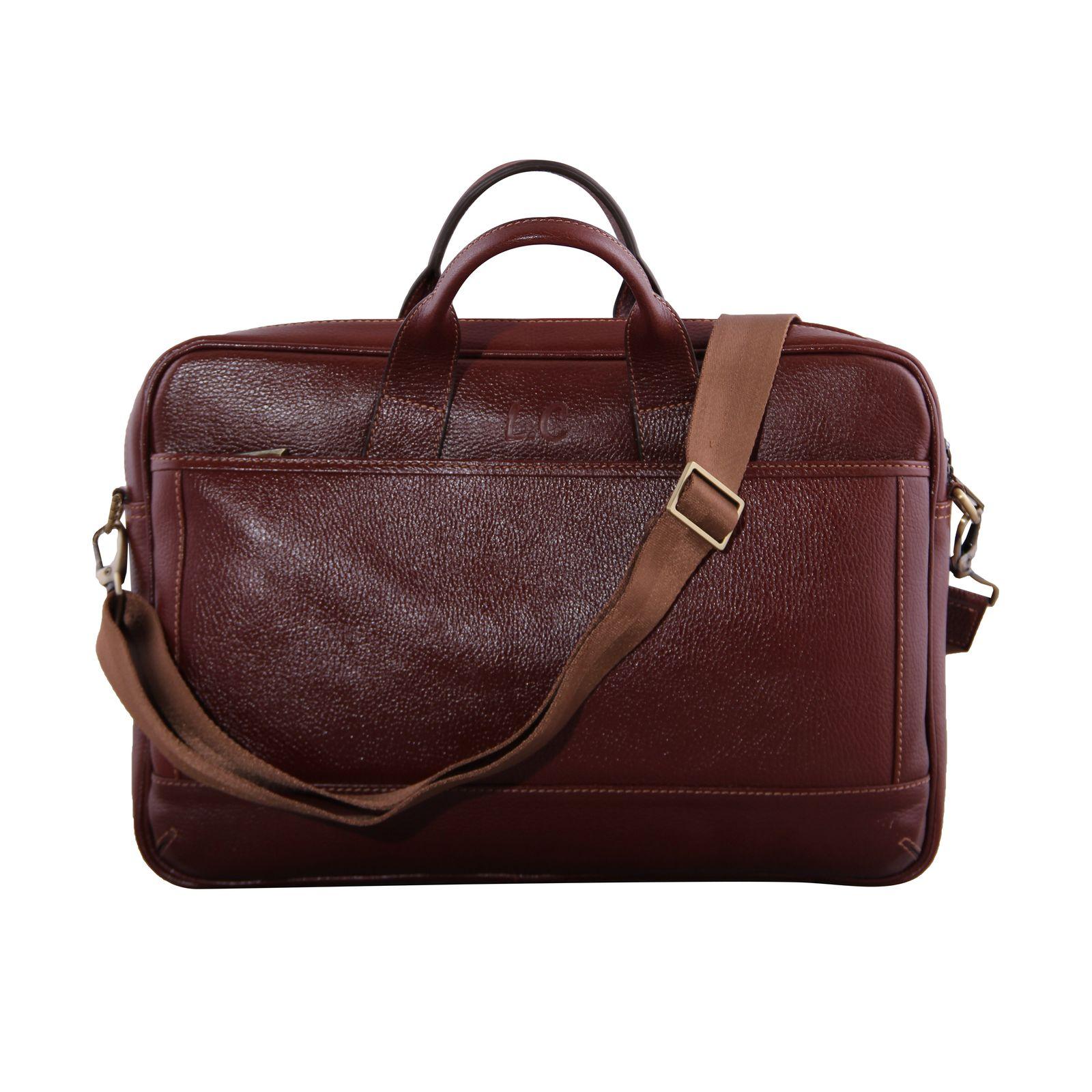 کیف اداری مردانه شهر چرم مدل SH11101-3 -  - 9