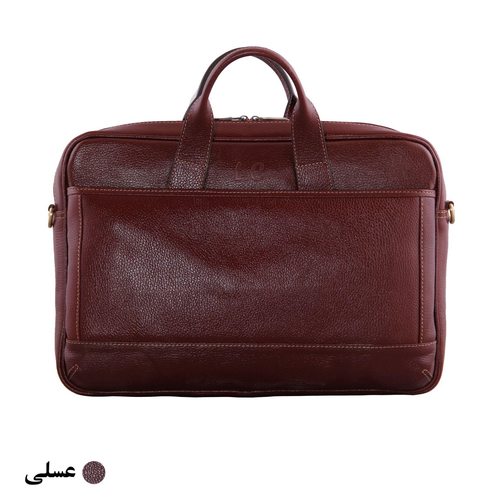 کیف اداری مردانه شهر چرم مدل SH11101-3 -  - 2