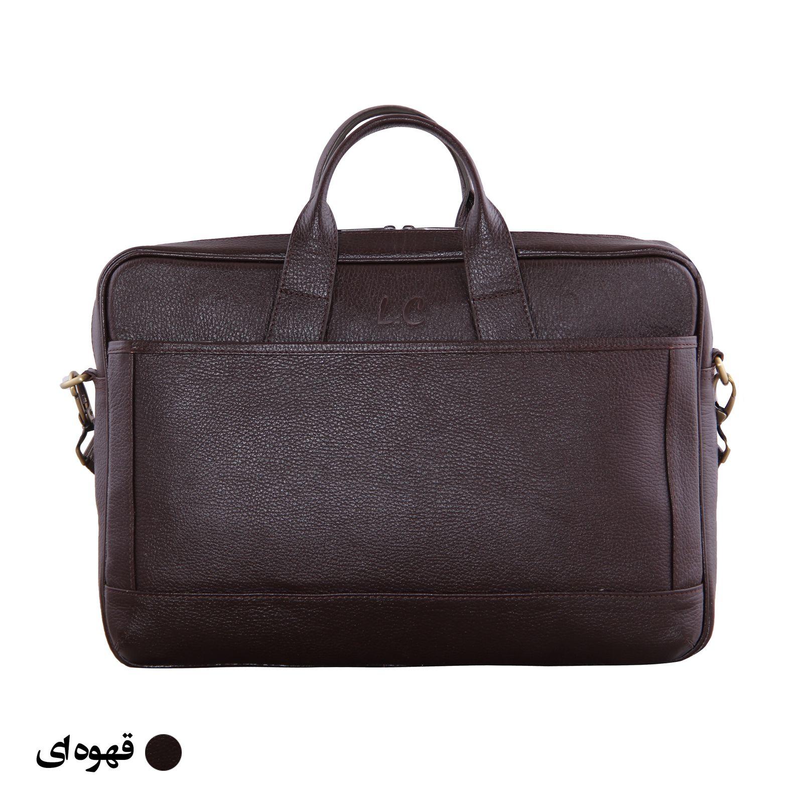 کیف اداری مردانه شهر چرم مدل SH11101-3 -  - 4