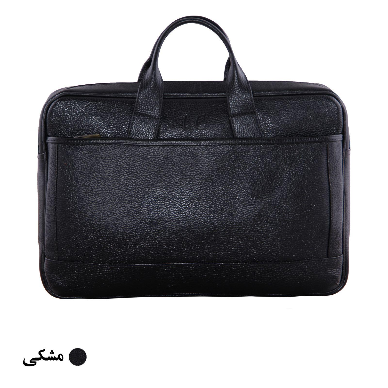 کیف اداری مردانه شهر چرم مدل SH11101-3 -  - 3