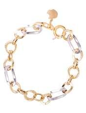 دستبند طلا 18عیار زنانه کد 17100 -  - 1