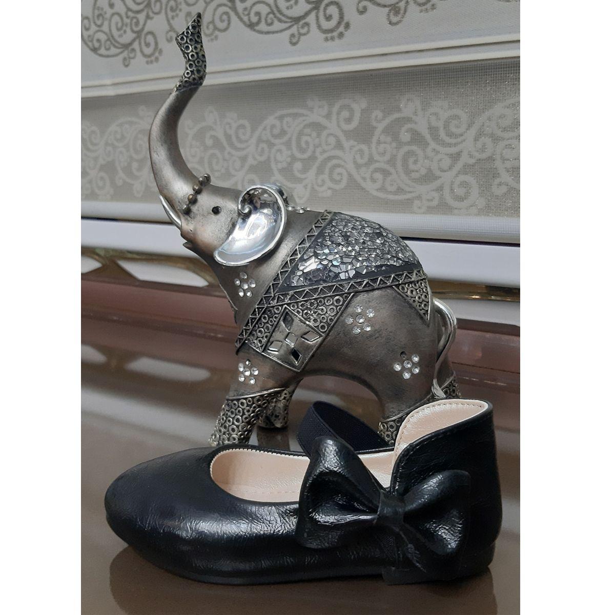 کفش دخترانه طرح پاپیون کد ta45210 -  - 4