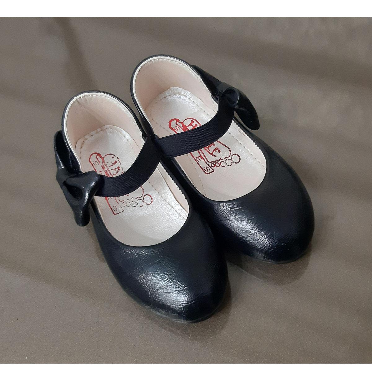 کفش دخترانه طرح پاپیون کد ta45210 -  - 2