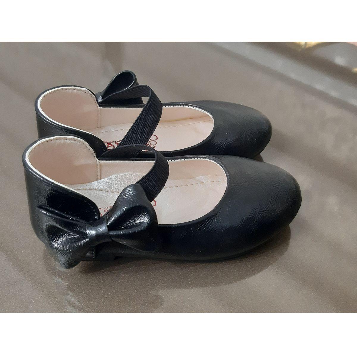کفش دخترانه طرح پاپیون کد ta45210 -  - 5