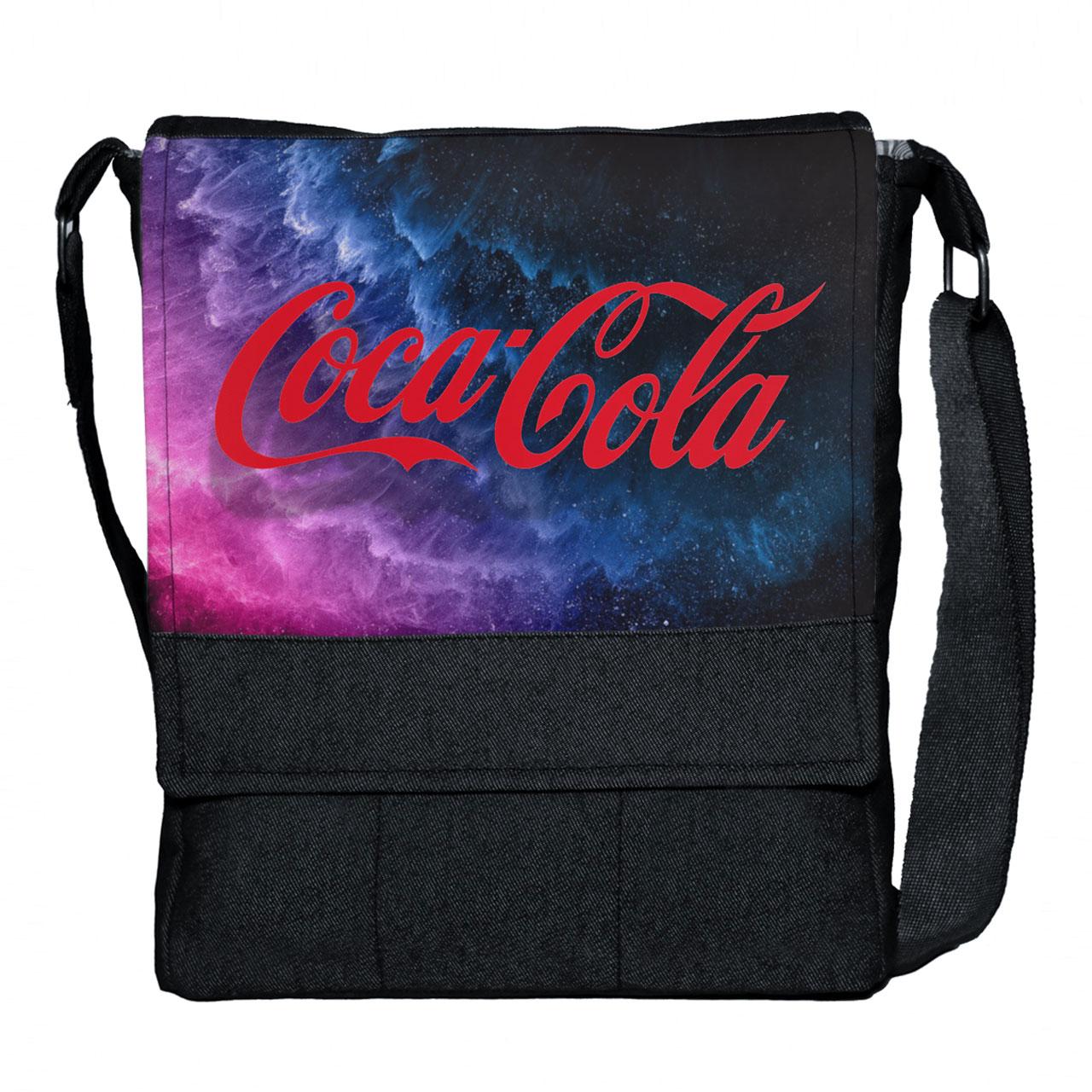 کیف دوشی گالری چی چاپ طرح کوکا کولا کد 65696