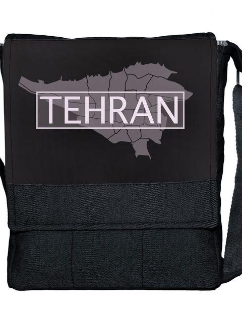 کیف دوشی گالری چی چاپ طرح تهران کد 65693