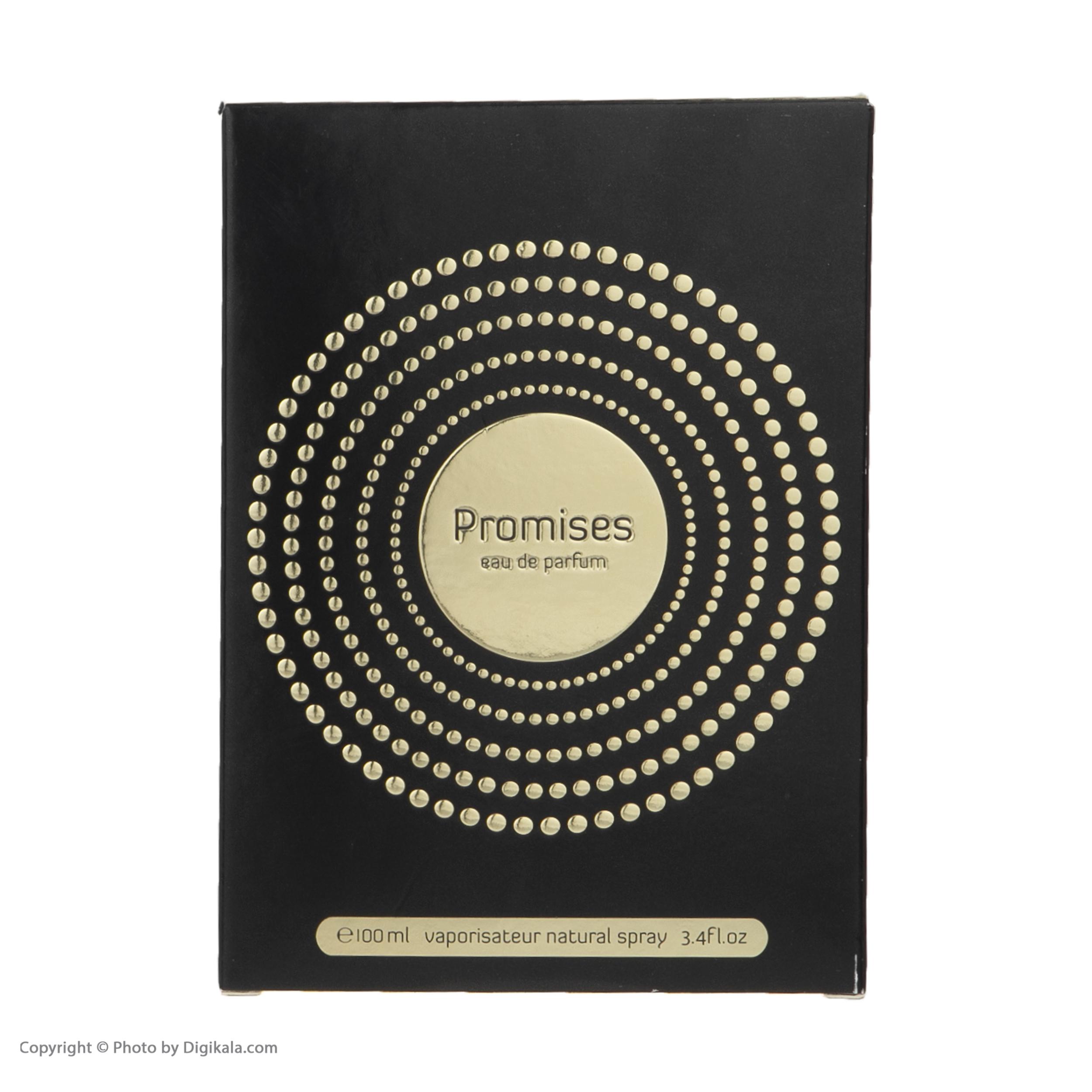 ادو پرفیوم زنانه امپر مدل Promises حجم 100 میلی لیتر