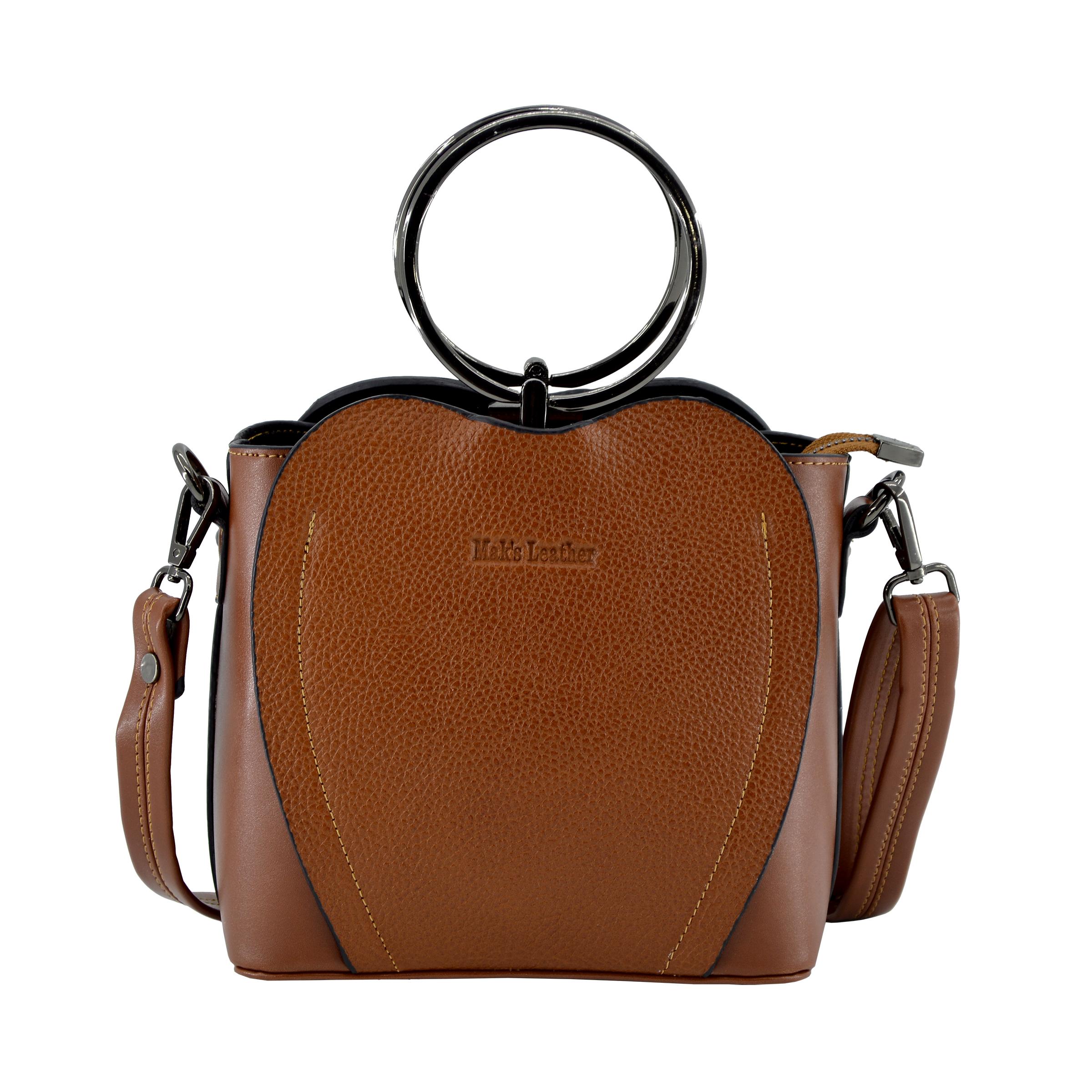 کیف دستی زنانه چرم مکس مدل آلدورا 13202