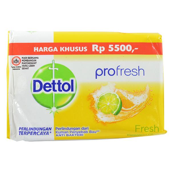 صابون ضد باکتری دتول مدل Fresh وزن 105 گرم